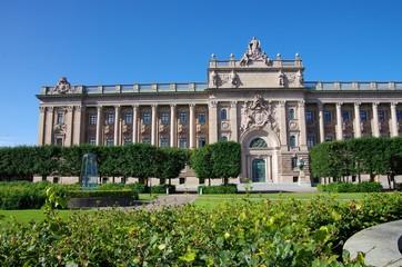 le parlement suédois