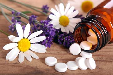 Schüssler Salze mit Lavendel und Kamille