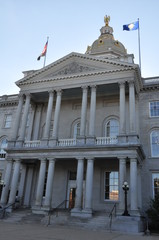 New Hampshire State House Capitol in Concord