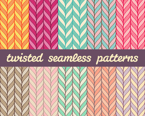 Twisted Seamless Patterns