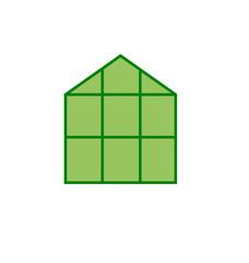 Greenhouse clip art vector for logo