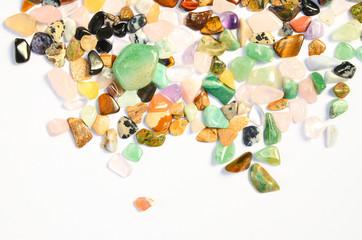 Mineral Edelsteine poliert Heilsteine