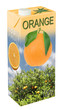 Leinwanddruck Bild - Orangensaft
