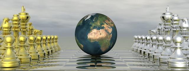 Global strategy - 3D render