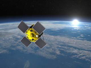 Acrimsat satellite - 3D render