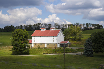 Farm House in the Countryside