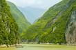 Leinwandbild Motiv Three gorges, Yangtze river
