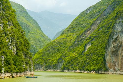 Three gorges, Yangtze river - 70814685