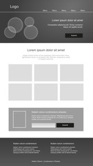 Graphic design websites. Responsive web design