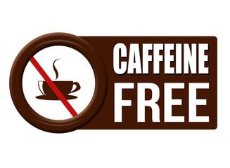 Caffeine free button