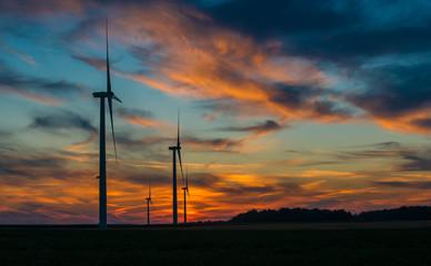 Sunset on Wind Power