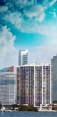 Buildings and skyline of Miami, Florida