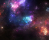 Colorful Space Nebulae - 70816041
