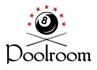 Billiard or snooker emblem