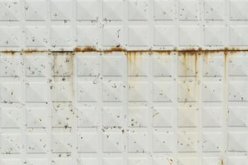 Rusty metallic surface