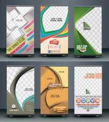 Collection of Roll Up Banner Design