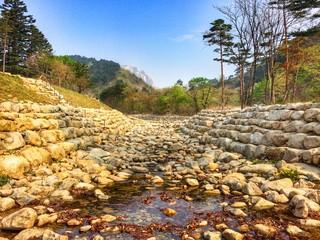 Mountain view of Seoraksan National Park Korea