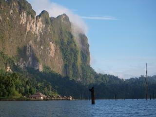 Chiew Lan lake, Thailand