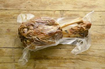 Stinco di maiale sottovuoto Codillo de cerdo Expo Milano 2015