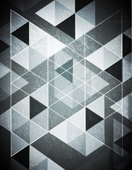 Seamless retro Abstract triangle pattern