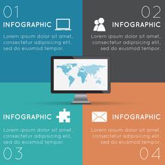 Squares Infographics