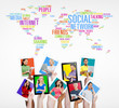 Group of People and Social Networking