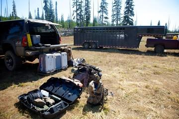 Packing for Elk Camp