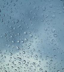 Raining outside