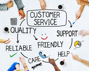 Group of People and Customer Service