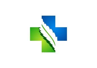 medicine,pharmacy,logo,plus,health,icon,cross,plants,nature