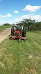 Mowing going away