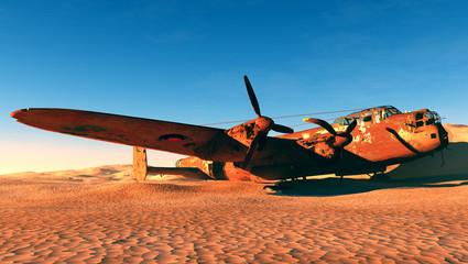 Rusty plane