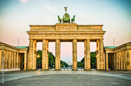 obraz PCV Brama Brandenburska w Berlinie, Niemcy