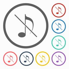 no music icon
