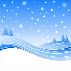 Colline e neve