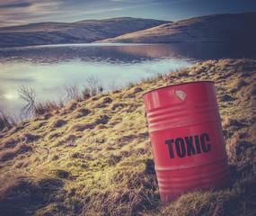Toxic Waste Near Water