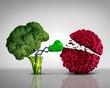 Leinwanddruck Bild - Health Food