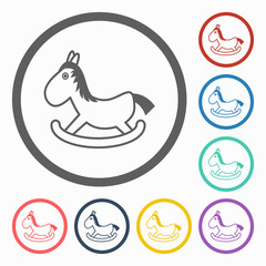 rocking horse icon