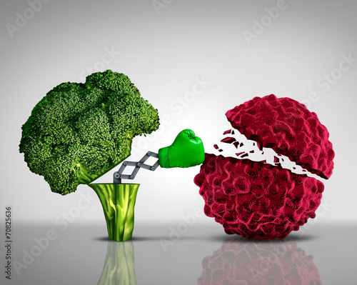 Leinwandbild Motiv Health Food