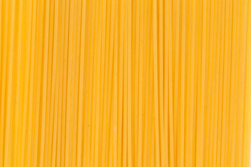 Close up of italian spaghetti pasta.