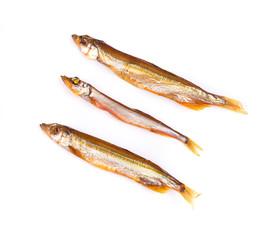 Three smoked fish.