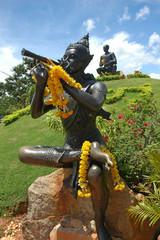 statues phra abhai mani,sun thon phu monument