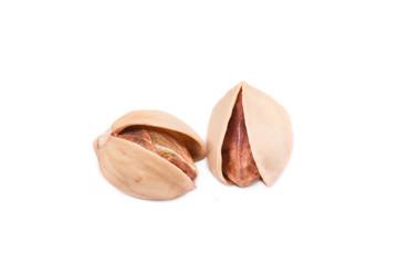 Two pistachios.