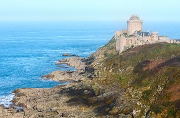Castle of La Latte. Exterior view (Brittany, France)