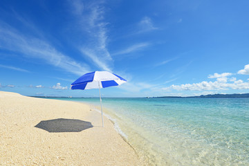 綺麗な沖縄のビーチ