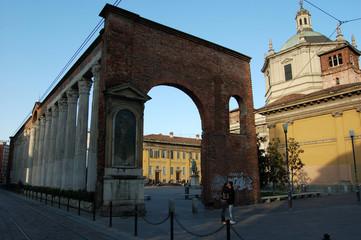 colonne di san lorenzo,milano