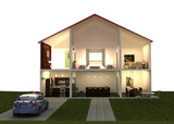 dream house fantasy render