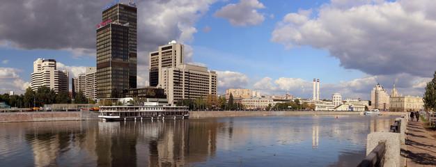 Центр Международной торговли. Панорама.