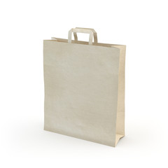 illustrate of a paper bag