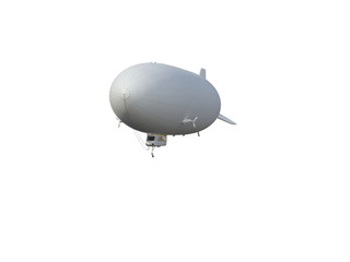 Illustrate of a airship